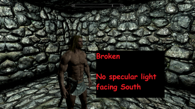 SSE Character Specular Lighting Fix