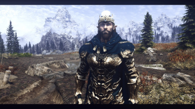 Dwemer from the Future. (Armor is not part of the Race Mod)