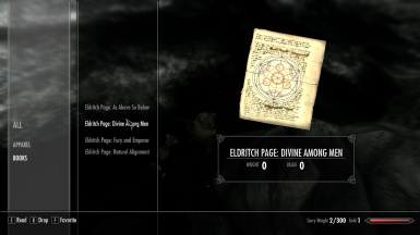 Hermaeus Mora's Eldritch Pages