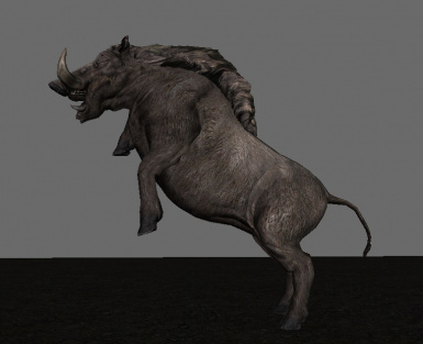 The Wild Boar that should have been in the game from the start!