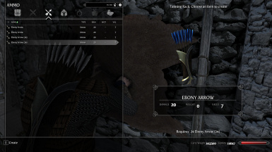 Freely Change the Fletching of Ebony Arrows