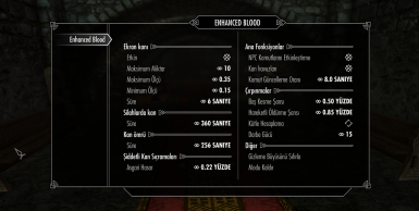 Enhanced Blood Textures SE - Turkish Translation