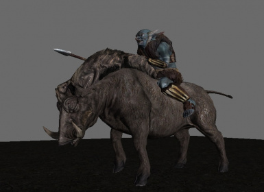 The Riekling Roughriders you always wanted in Solstheim!