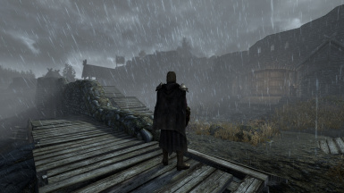 R A S S  - Visual Effects - Rain And Snow Shaders at Skyrim Special
