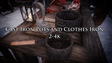 Cast Iron Pots and Clothes Iron 2-4k
