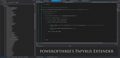 powerofthree's Papyrus Extender for SSE