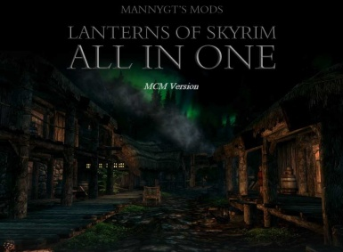 Lanterns of Skyrim SE - MCM version