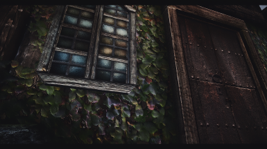 The window is from Rustic Windows I think - so ignore that and look at Pfuschers amazing ivy - Looks real AF
