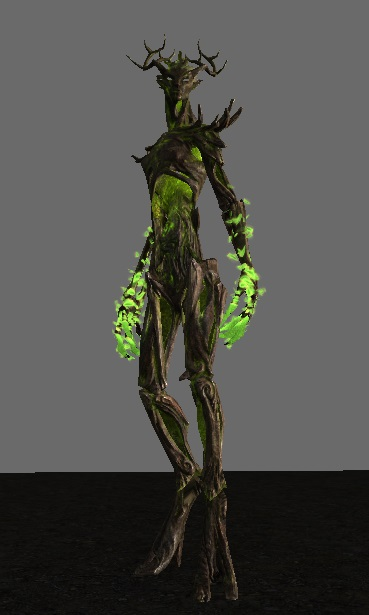 Elongated limbs, spine, and neck for a more intimidating and sinister appearance!
