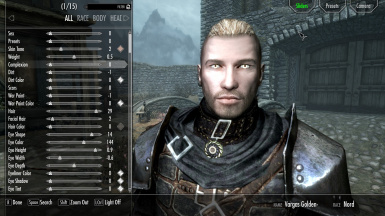 Handsome Male Nord Preset