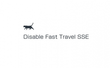 Disable Fast Travel SSE