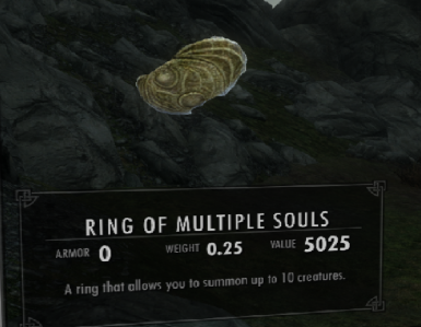 Ring of Multiple Souls - Summon up to 10 Creatures like Twin-souls 2