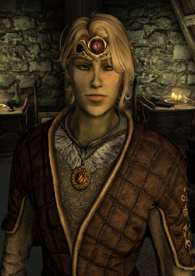 Enari - cute male Altmer (high elf)