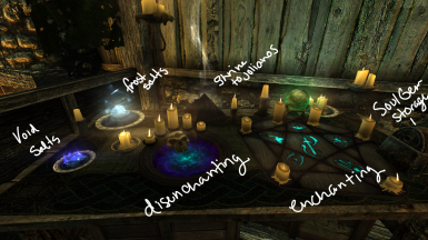 Enchanting Table Dissection