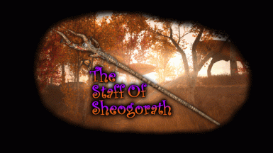 (FR) The Staff Of Sheogorath