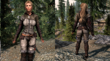 Triss Armor Retextured SE - CBBE - UNP - Physics at Skyrim Special