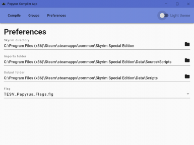 Papyrus Compiler App for LE or SE at Skyrim Special Edition Nexus