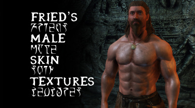 Fried's Male Skin Textures - 4k Male Skin Textures and Complexions