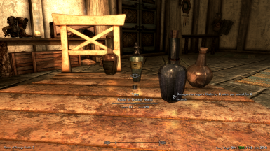Pretty Animated Potions patch for Alchemy Potions and Food Adjustments