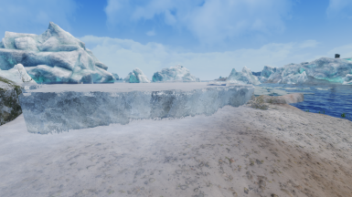 Edited glaciertrim01 with new collision