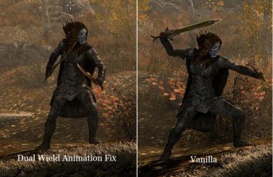 3rd Person Dual Wield Animation Fix SSE