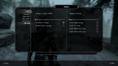 YASH - Yet Another Skyrim Hardcore mod at Skyrim Special