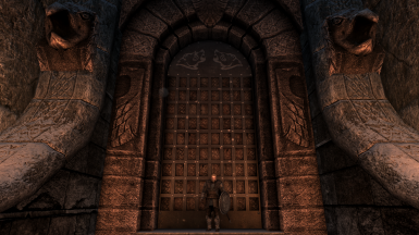 A truly aesthetic Windhelm gate the true sons and daughters of Skyrim can be proud of!