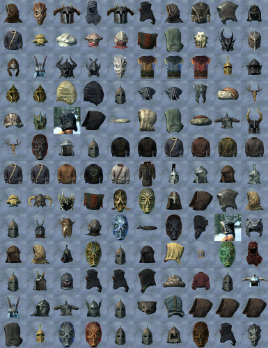 All Current Helms Included for SSE