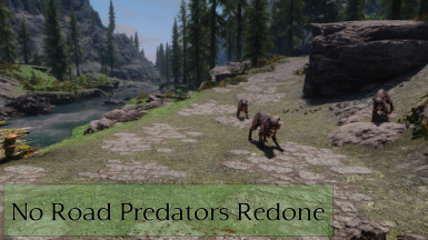 No Road Predators Redone