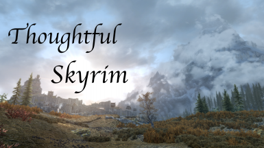 Thoughtful Skyrim