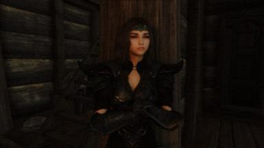 Samantha v1.1 Hanging out at the Bannered Mare before eye color and eyebrow changes