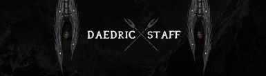 Daedric Staff - Conjuration Staff Replacer
