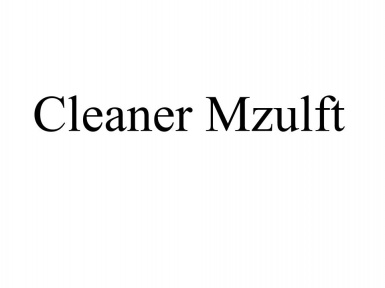 Cleaner Mzulft