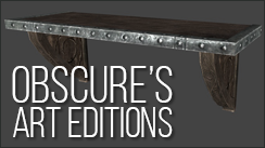 Obscure's Art Editions - Noble Wall Shelves