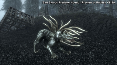 Bad Bloods tribal Predator Hound - V113A
