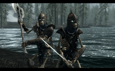 Undead Stormcloak Soldiers with Heavy Armor - new in v5