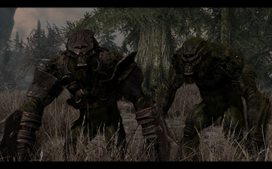 Swamp Troll and Armored Swamp Troll