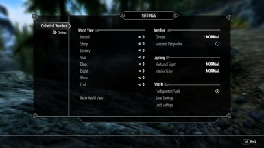 Cathedral Weathers MCM at Skyrim Special Edition Nexus - Mods and