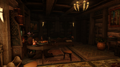 The companions' room, room for 4 more friends since Lydia takes up 1 of the 5 beds.