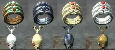 Craftable Dawnguard Vampire Jewelry SSE Edition