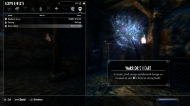 Nord Child with Imperious - Races of Skyrim's passives.