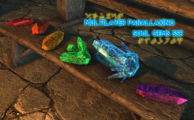 MultiLayer Parallax Soul Gems SSE