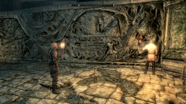 Mod free savegame with Serana available and Delphine and Esbern in Sky Temple
