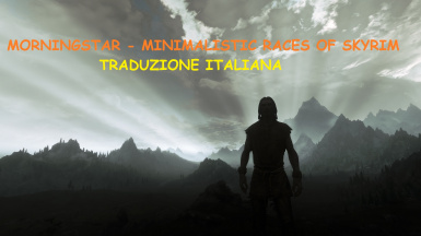Morningstar - Minimalistic Races of Skyrim - Traduzione Italiana