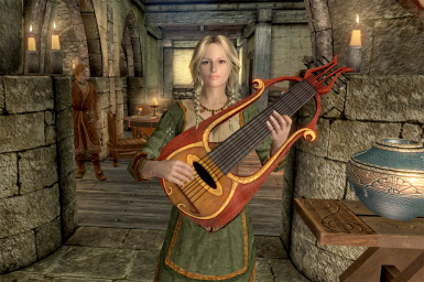 Vilja and her lute by Seyheb