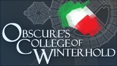 Obscure's College of Winterhold - ITA