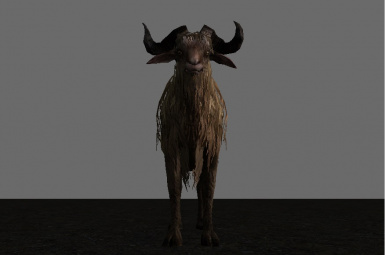 Gritty Goats enhances head to a more realistic proportion!