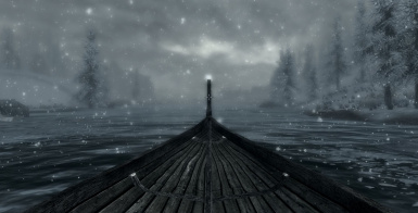 Steuerbare Boote in Himmelrand (Skyrim Rowboats) SSE DV