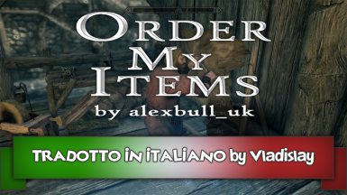 Order My Items - Special Edition ITA