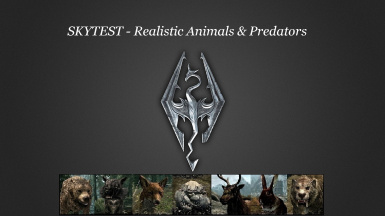 SkyTEST - Realistic Animals and Predators SE Traducao PT-BR v1.65